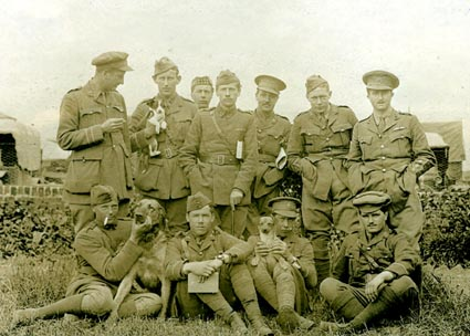 No 2 Sqn Officers May 1915
